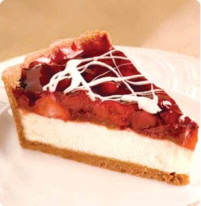 Strawberry and Rhubarb Cheese Torte