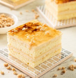 Canadian maple sugar slab cake