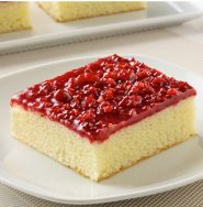 Healthy raspberry slab